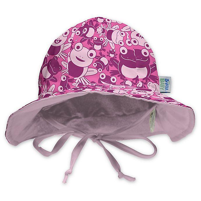 Alternate image 1 for My SwimBaby® Hopping Holly Sun Hat