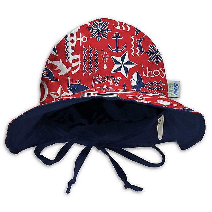 Alternate image 1 for My SwimBaby® Ahoy Sun Hat