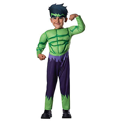 Avengers Assemble Hulk Size 2-4T Child's Halloween Costume