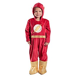 Flash Premium Size 18M-2T Toddler Jumpsuit Halloween Costume in Red