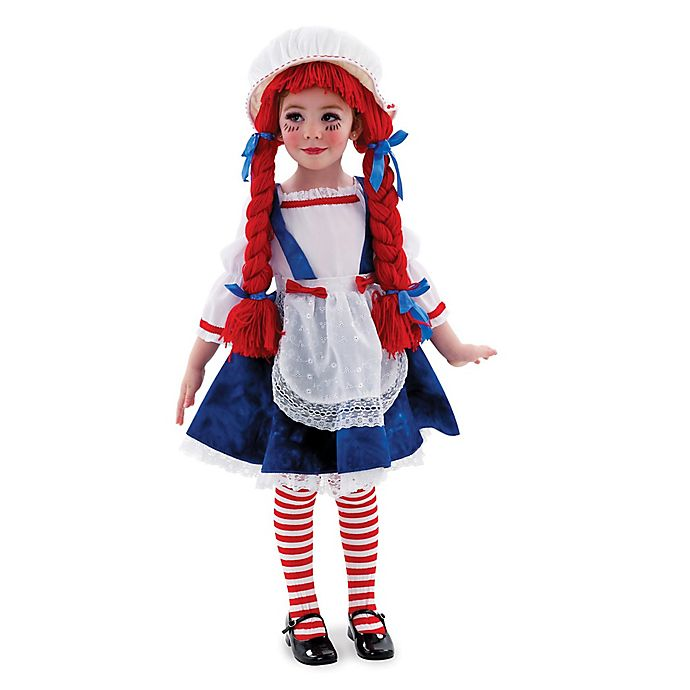 Alternate image 1 for Rubie's Rag Doll Small Child's Halloween Costume