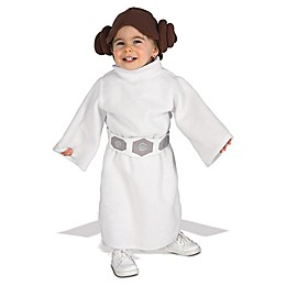 Star Wars™ Princess Leia Fleece 2-4T Child's Halloween Costume