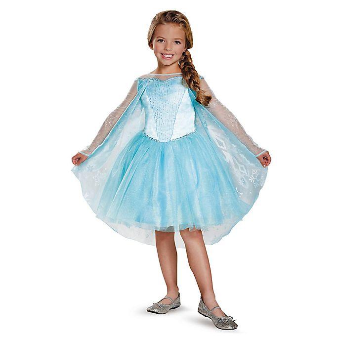 Alternate image 1 for Disney® Frozen: Elsa Prestige Tutu Size 3-4T Toddler Costume