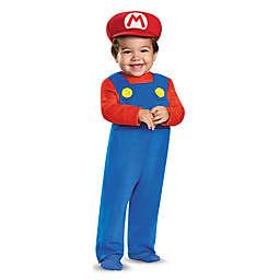 Super Mario Bros: Mario Size 12-18M Infant Halloween Costume in Blue