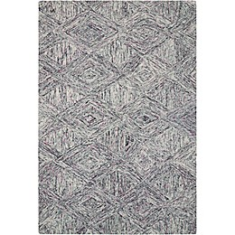 Nourison Interlock  Hand Tufted Rug in Heather