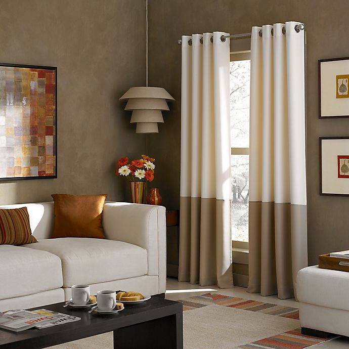 Flounced Light Filtering Rod Pocket, Bed Bath And Beyond Living Room Curtains