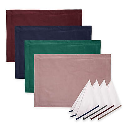 Holiday Velvet Table Linen Collection