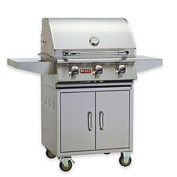 Bull Grills 24-Inch Stainless Steel Natural Gas Grill with Cart