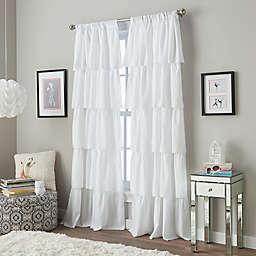 Marquee Light Filtering Pinch Pleat Back Tab Curtain Panel (Single)