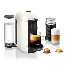 Nespresso® by Breville® VertuoPlus Coffee and Espresso Maker Bundle with Aeroccino