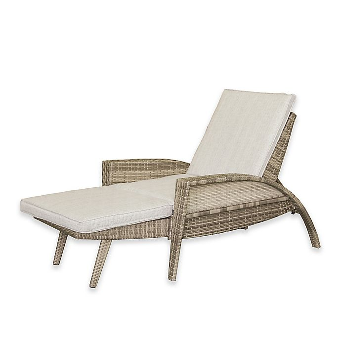 Ink Ivy Anna Outdoor Lounge Convertible To Chaise Chair