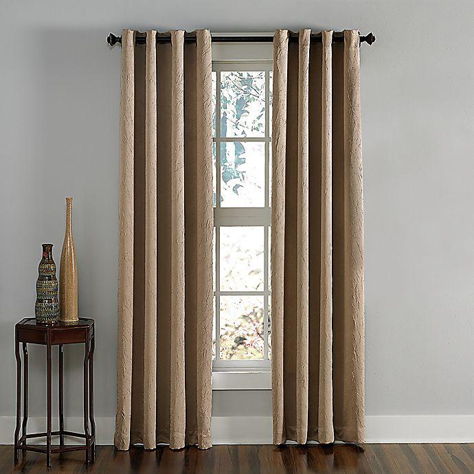 Alternate image 1 for Lenox Grommet Top Room Darkening Window Panel (Single)