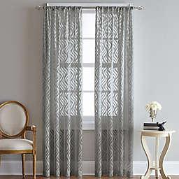 Lyric Rod Pocket Sheer Window Curtain Panel (Single)