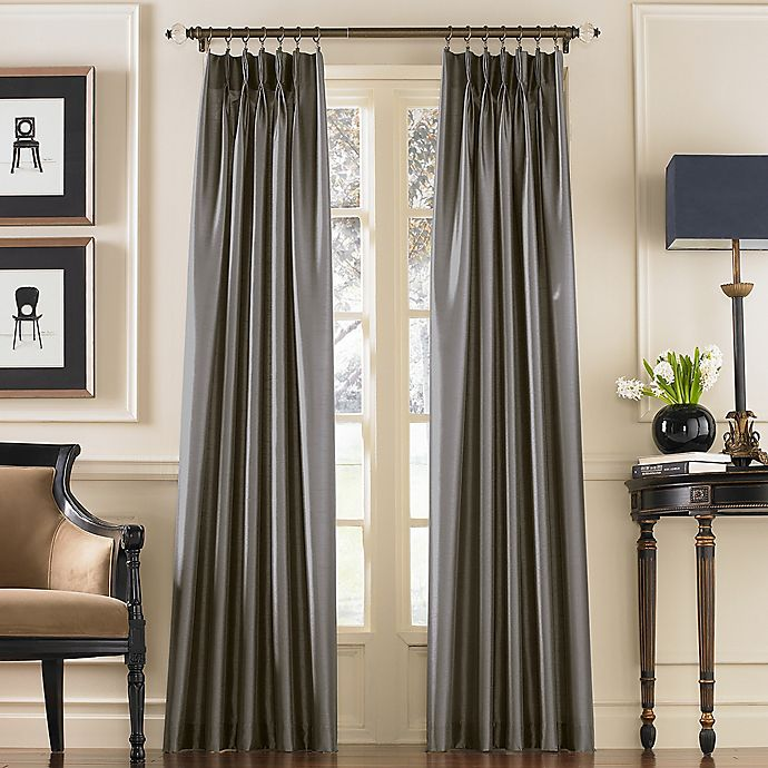 Alternate image 1 for Marquee Pinch Pleat Back Tab Curtain Panel