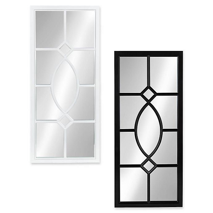 Alternate image 1 for Kate and Laurel Cassat 13-Inch x 30-Inch Wall Panel Mirror