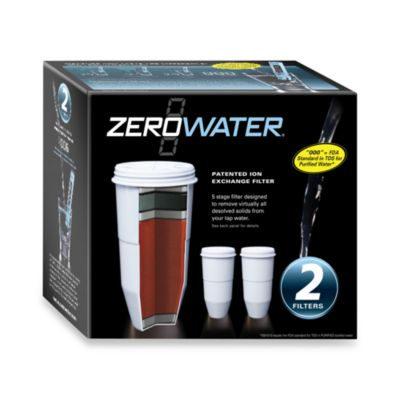 Zerowater 174 Pitcher Replacement Filter Bed Bath Amp Beyond