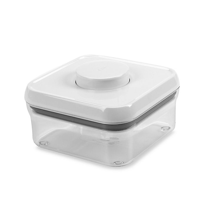 Alternate image 1 for OXO Good Grips® .8-Quart Square Food Storage Pop Container