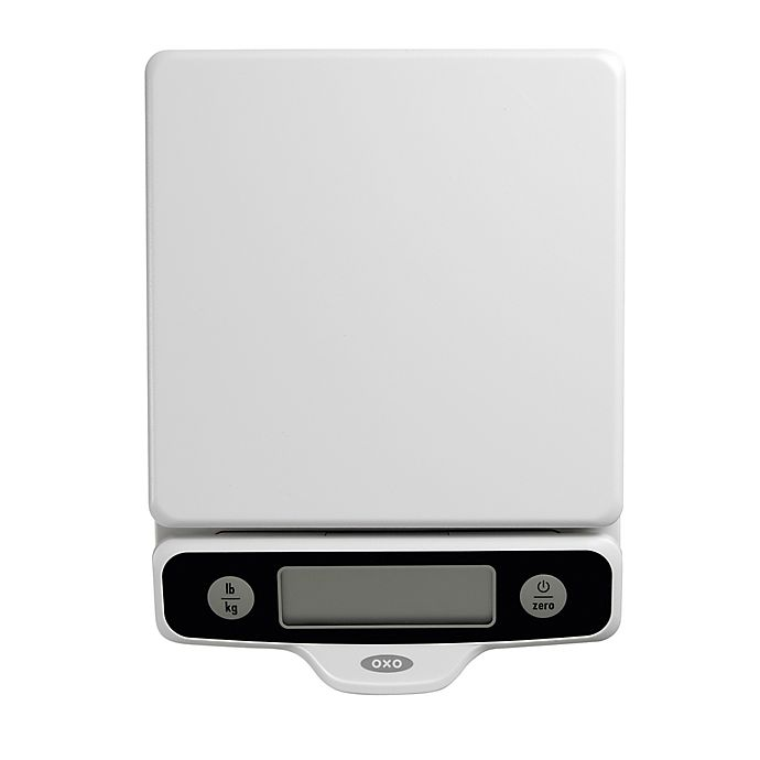 Alternate image 1 for OXO Good Grips® 5-Pound Food Scale with Pull-Out Display