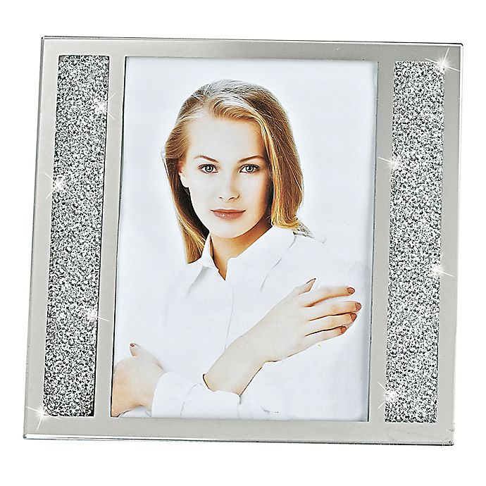 Alternate image 1 for Badash Lucerne 8-Inch x 10-Inch Crystalized Picture Frame