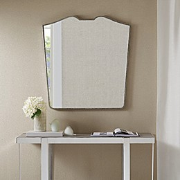 Madison Park Avery 30-Inch x 32-Inch Wall Mirror in Antique Silver