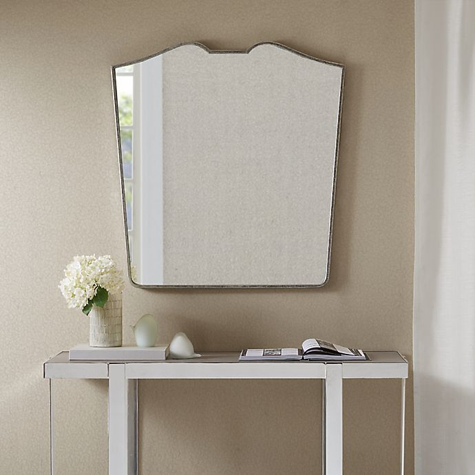 Alternate image 1 for Madison Park Avery 30-Inch x 32-Inch Wall Mirror in Antique Silver