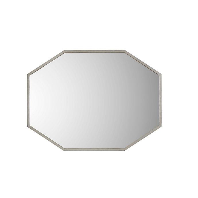 Alternate image 1 for Madison Park Signature Zoey 30-Inch x 40-Inch Wall Mirror in Antique Silver