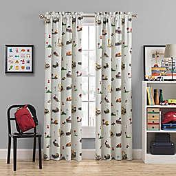 Waverly Kids Can You Dig It Rod Pocket Room Darkening Window Curtain Panel