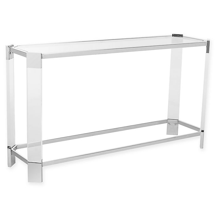 Alternate image 1 for Safavieh Gianna Glass Console Table