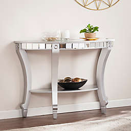 Southern Enterprises Lindsay Glam Mirrored Table Collection