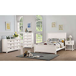 Campaign Wooden 4-Piece Bedroom Set