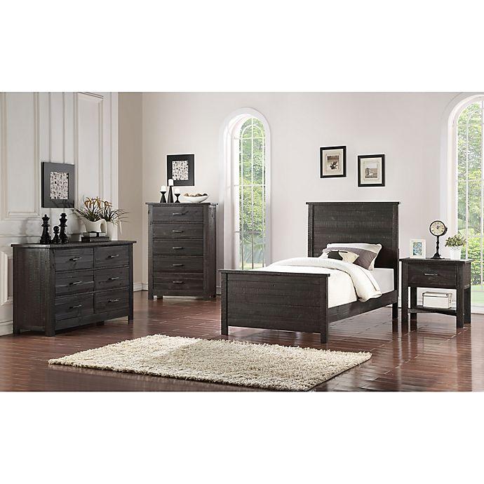 Sonoma Rustic 4-Piece Bedroom Set