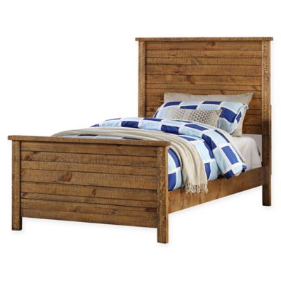 Sonoma Rustic Twin Panel Bed in Natural