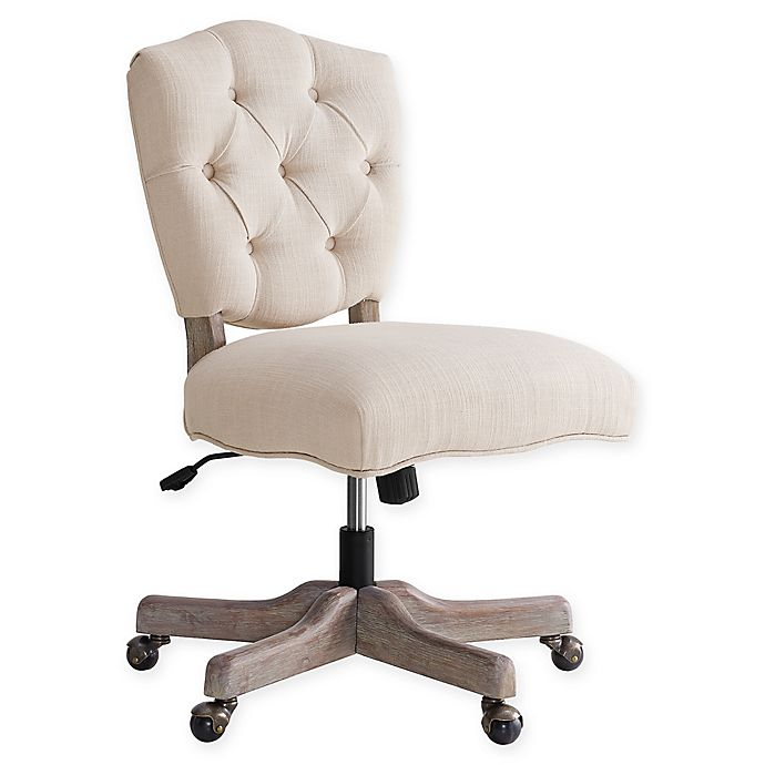 Alternate image 1 for Linon Home Kelsey Office Chair in Natural