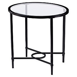 Southern Enterprises Quinton Oval Side Table