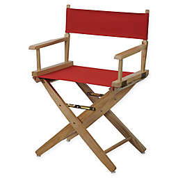 American Trails Extra-Wide Premium 18-Inch Directors Chair with Natural Finish