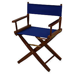 American Trails Extra-Wide Premium 18-Inch Directors Chair with Oak Finish