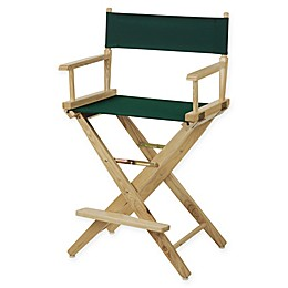 American Trails Extra-Wide Premium 24-Inch Directors Chair with Natural Finish