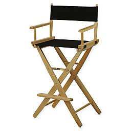 American Trails Extra-Wide Premium 30-Inch Directors Chair with Natural Finish