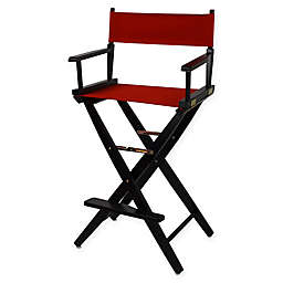 American Trails Extra-Wide Premium 30-Inch Directors Chair with Black Finish