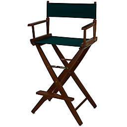 American Trails Extra-Wide Premium 30-Inch Directors Chair with Oak Finish