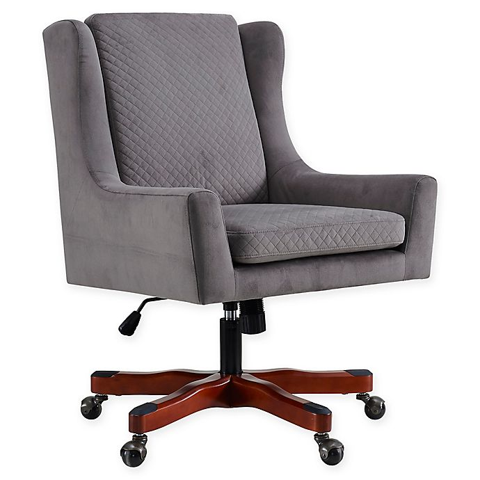 Alternate image 1 for Linon Home Darcy Office Chair in Grey