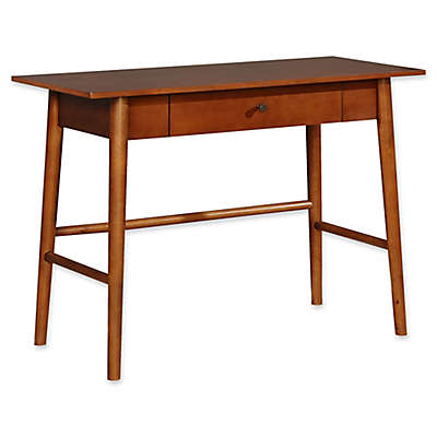 Linon Home Charlotte Desk in Brown