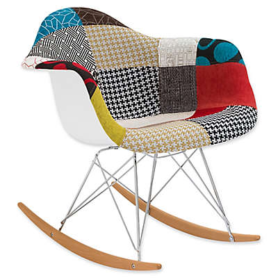 Poly and Bark Padded Patchwork Rocker