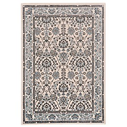 Feizy Burley Rug in Blue/Brown
