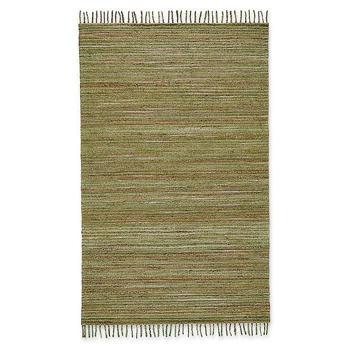 Alternate image 1 for Feizy Burley Crestwood 5-Foot x 8-Foot Area Rug in Green