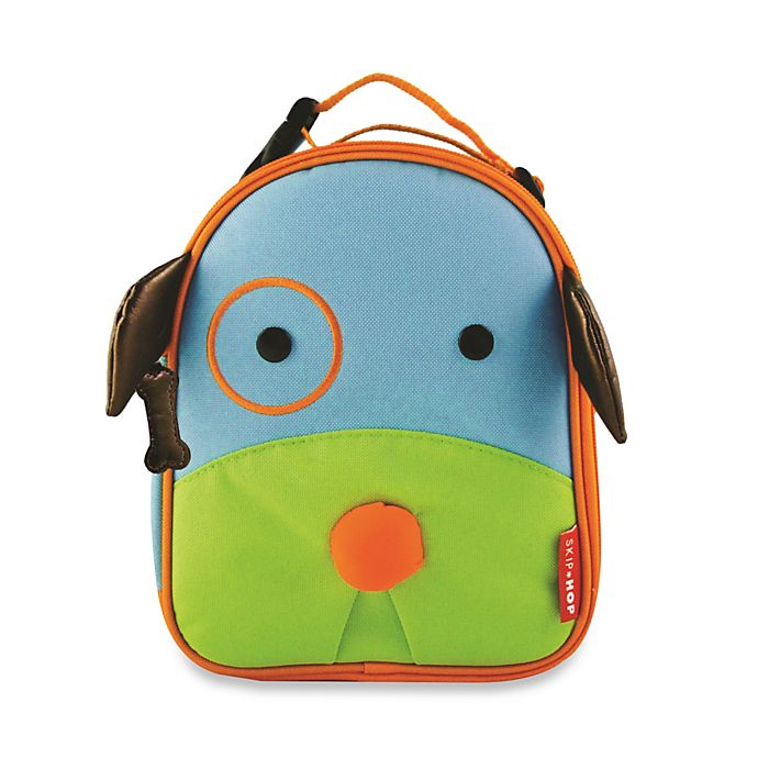 Alternate image 1 for SKIP*HOP® Zoo Lunchies Insulated Lunch Bag in Dog