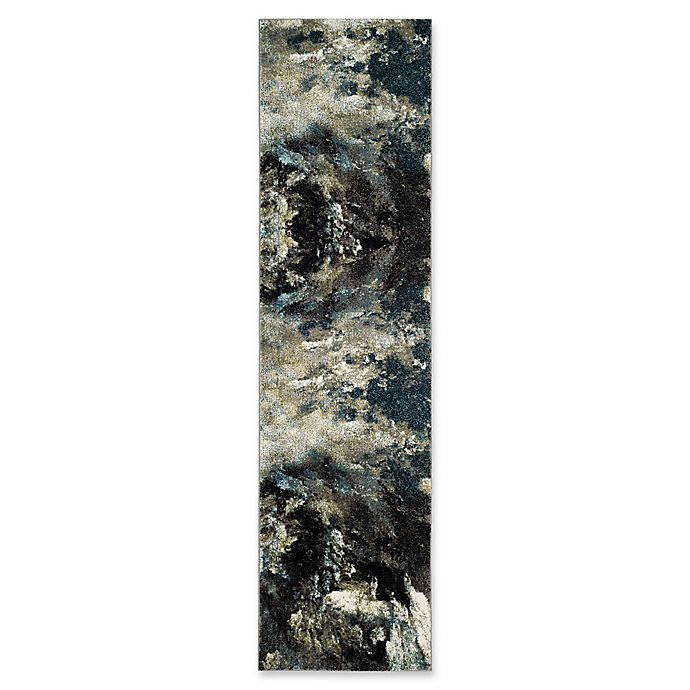 Alternate image 1 for Safavieh Glacier Celestial 2-Foot 2-Inch x 8-Foot Runner in Blue/Multi