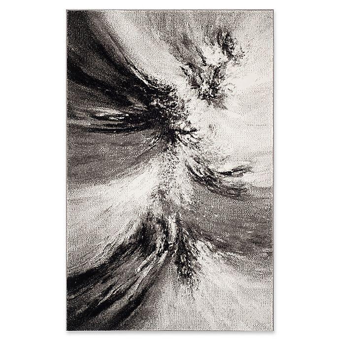 Alternate image 1 for Safavieh Glacier Mystical 2-Foot 7-Inch x 5-Foot Area Rug in Grey/Multi