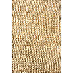 nuLOOM Hand Woven Hailey Jute 4-Foot x 6-Foot Area Rug in Natural