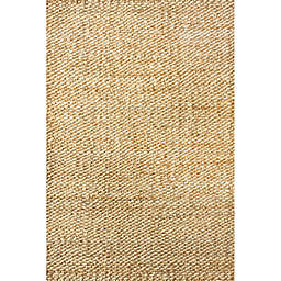 nuLOOM Hand Woven Hailey Jute 6-Foot x 9-Foot Area Rug in Natural